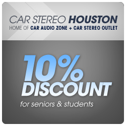10 Percent Discount - for seniors & students